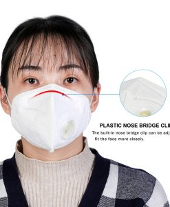 Bfaccia KN95 Fa Mask Dustproof Windproof 95% Respirator PM2.5 Cover With Breath Anti-Pollution Mouth Mask